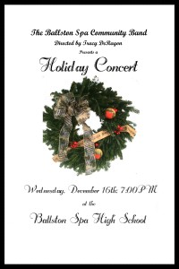 Holiday Concert December 16