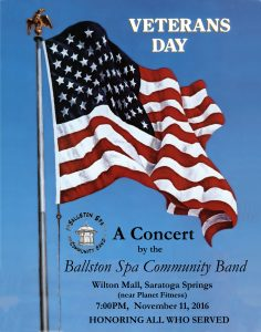 Veterans' Day Concert 2016